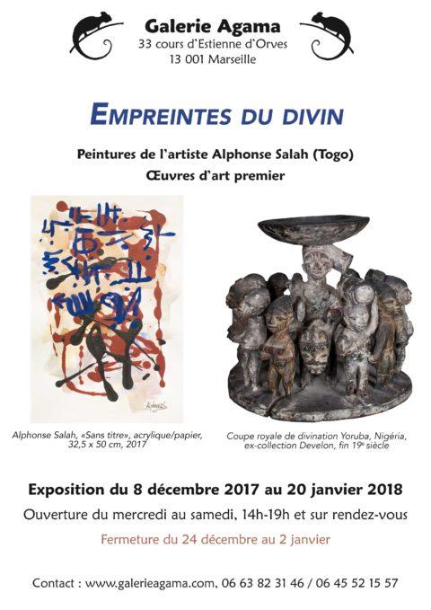 """Exhibition """"Divine traces"""""""