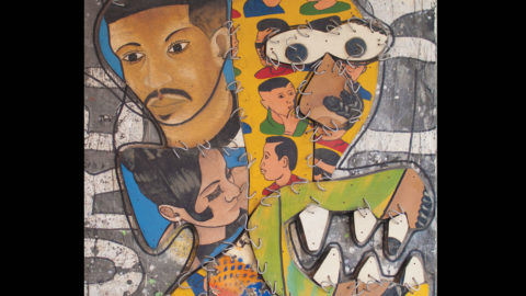 Exhibition of togolese artist Camille Tete Azankpo