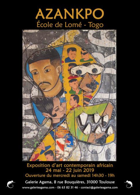Exposition de l'artiste Camille Tete AZANPO